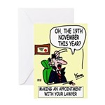 Commercial Lawyer's Greeting Card