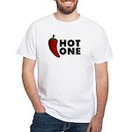 Hot One Chili White T-Shirt