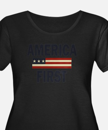 America First Plus Size T-Shirt