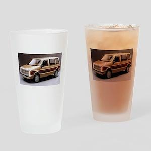 1984 Dodge Caravan Drinking Glass