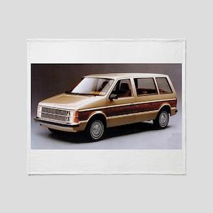 1984 Dodge Caravan Throw Blanket