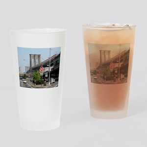 NYC Sites Drinking Glass