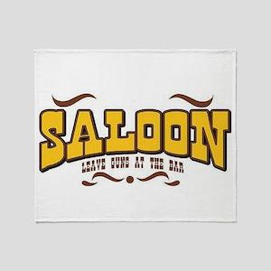 Saloon Throw Blanket