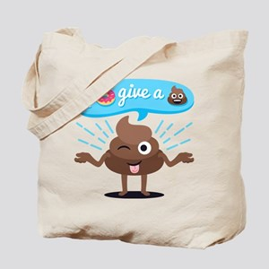 I Donut Give A Shit Tote Bag