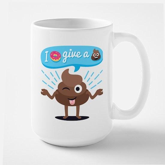 I Donut Give A Shit Mug