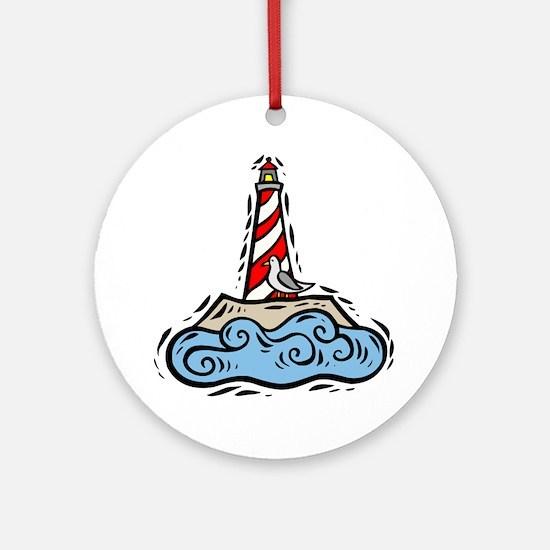 Lighthouse101 Ornament (Round)
