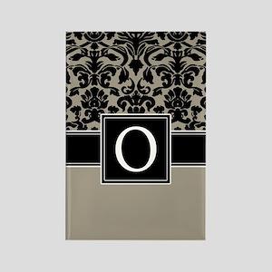 Monogram Letter O Gifts Rectangle Magnet