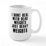 Dead weights Large Mug