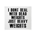 Dead weights Throw Blanket