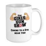 Girls Gun Show Large Mug