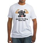 Girls Gun Show Fitted T-Shirt