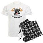Girls Gun Show Men's Light Pajamas