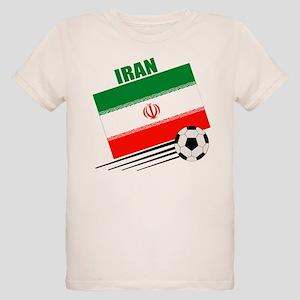 Iran Soccer Team Organic Kids T-Shirt