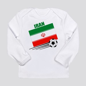 Iran Soccer Team Long Sleeve Infant T-Shirt