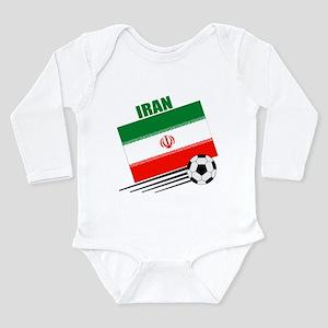 Iran Soccer Team Long Sleeve Infant Bodysuit