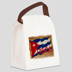 Cuba Libre Canvas Lunch Bag