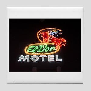 Tile Coaster - El Don Motel
