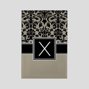 Monogram Letter X Gifts Rectangle Magnet