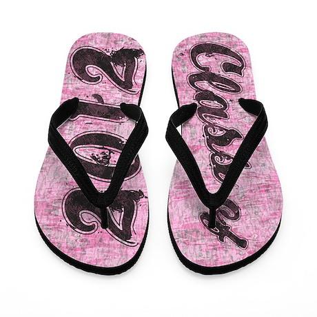 Class of 2012 PINK Flip Flops