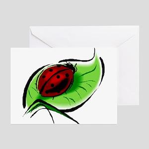 Ladybug106 Greeting Cards (Pk of 10)