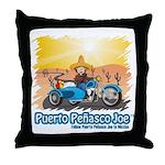 Mexican Chopper Throw Pillow