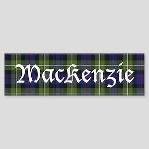Tartan-MacKenzie htg grn Sticker (Bumper)
