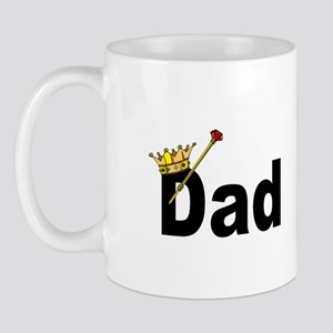 Dad with Crown Mug