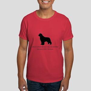 Newfoundland with Customizable Text Dark T-Shirt