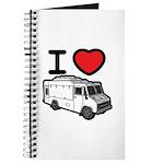 I Love Food Trucks! Journal