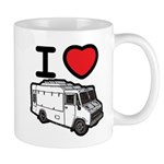 I Love Food Trucks! Mug