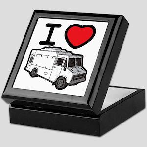I Love Food Trucks! Keepsake Box