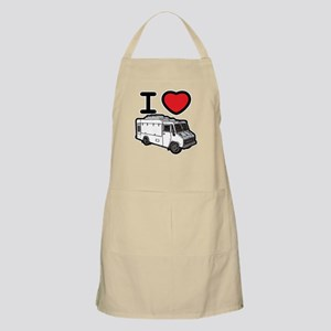 I Love Food Trucks! Apron