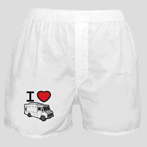 I Love Food Trucks! Boxer Shorts