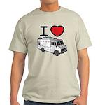 I Love Food Trucks! Light T-Shirt