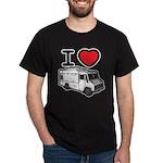 I Love Food Trucks! Dark T-Shirt