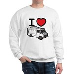 I Love Food Trucks! Sweatshirt
