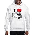 I Love Food Trucks! Hooded Sweatshirt