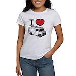 I Love Food Trucks! Women's T-Shirt