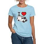 I Love Food Trucks! Women's Light T-Shirt