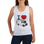 I Love Food Trucks! Women's Tank Top