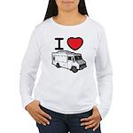 I Love Food Trucks! Women's Long Sleeve T-Shirt