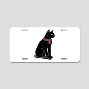 Egyptian Cat Goddess Bastet Aluminum License Plate