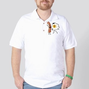 Bacon 'N Egg Lover Golf Shirt