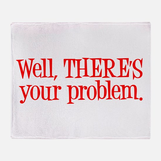 Funny Carrie Throw Blanket
