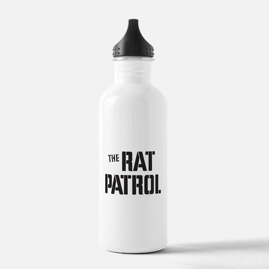 The Rat Patrol Water Bottle
