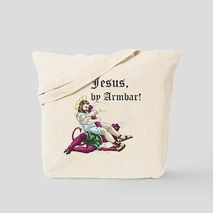 Jesus, by Armbar! Tote Bag