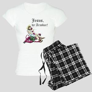 Jesus, by Armbar! Women's Light Pajamas