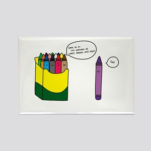 Box of Crayons Rectangle Magnet