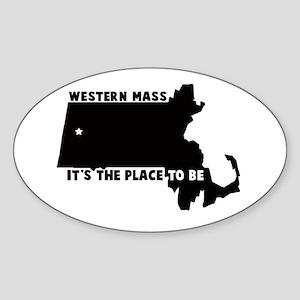Western Massachusetts it's th Sticker (Oval)