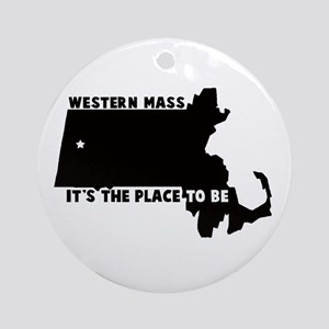 Western Massachusetts it's th Ornament (Round)